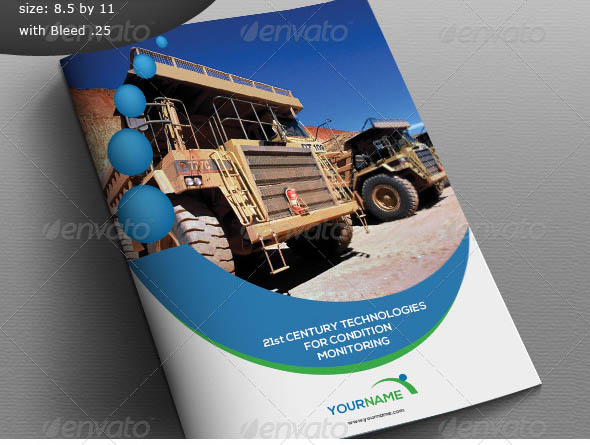 Cool Construction Brochure Templates  Desiznworld