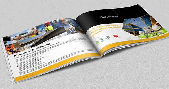 Creative Brochure Layout Theveliger Creative Brochure Layout - Construction brochure templates
