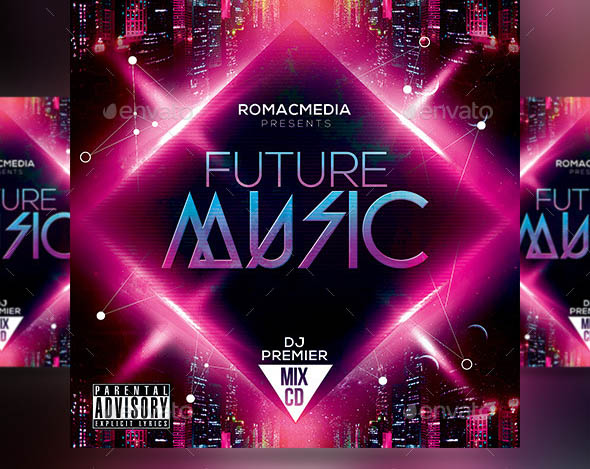 Future Music CD Cover