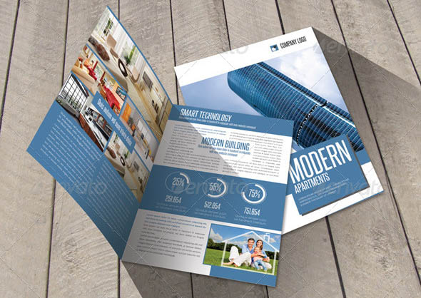 Cool Construction Brochure Templates Desiznworld - Bi fold brochure template indesign