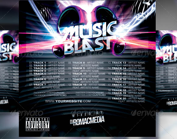 Music Blast CD Cover