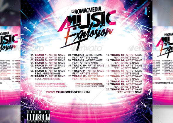 Music Explosion CD Cover