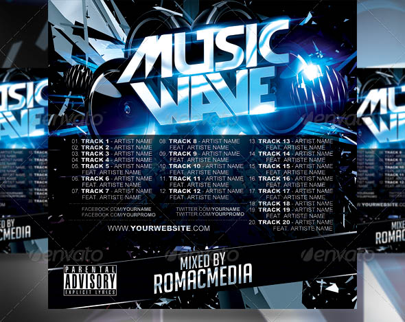 Music Wave CD Cover