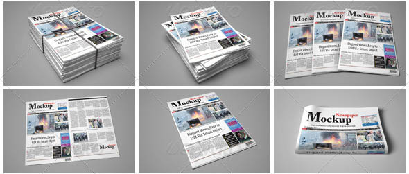 Newspaper Mock-Up 01