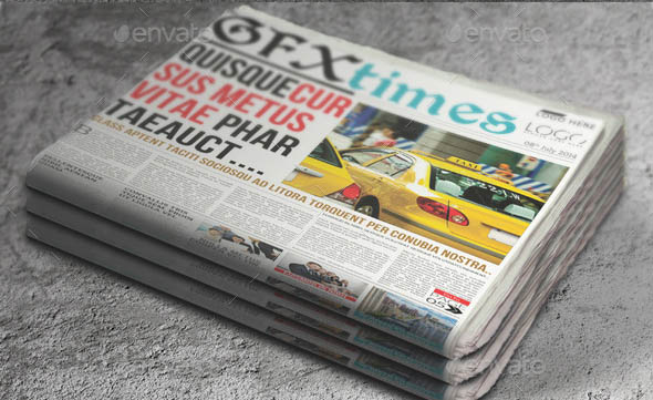Newspaper Mock-Up 03