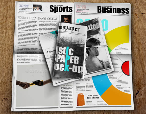 Newspaper Mock-up 04
