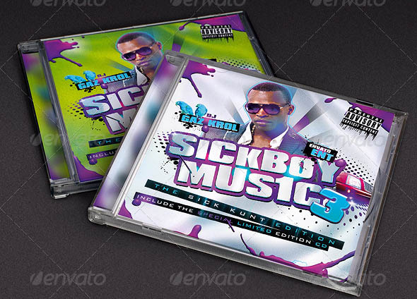 SickBoy Music Mixtape CD Cover