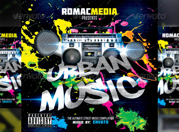 Urban Music CD Cover
