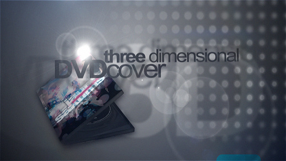 3D DVD cover mock-up