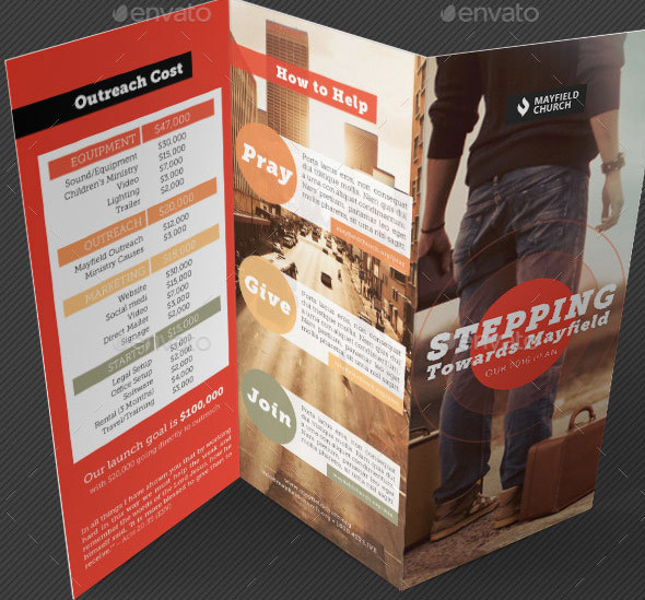 47 Nice Church Brochure Templates (PSD & InDesign