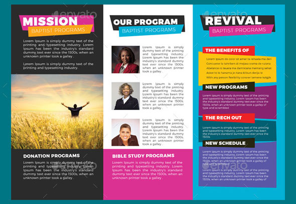 Church for Life Trifold Brochures