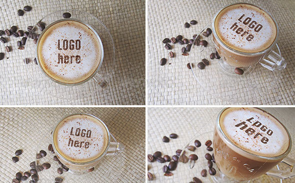 Coffee With Cocoa Logo Mockup