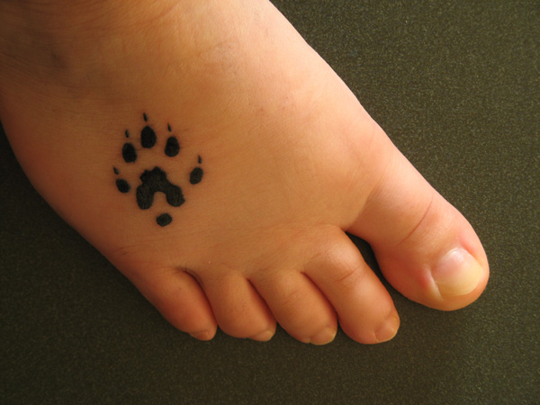 20 cool bear paw tattoo desiznworld for Bear claw tattoo