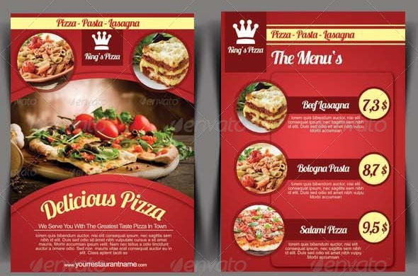 41 nice pizza flyer psds desiznworld