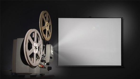 Old Projector Mock-Up