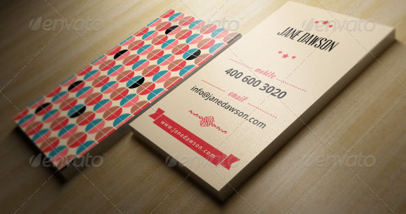Retro Business Card 03