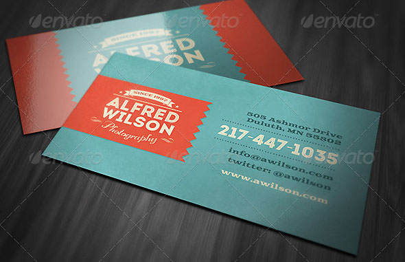 Retro Business Card 2