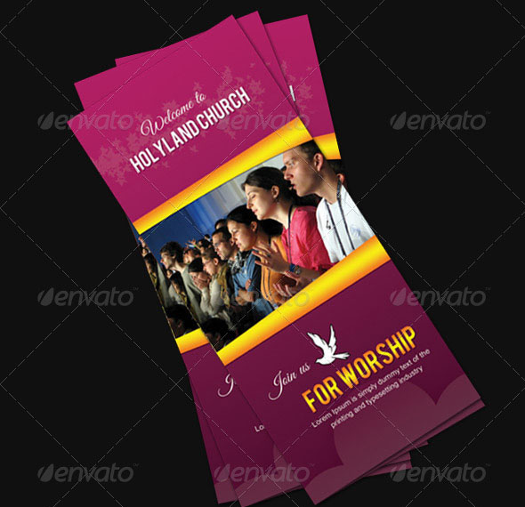 Saint Church TriFold Brochure
