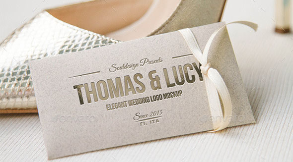 Wedding Logo Mockup Set Vol II