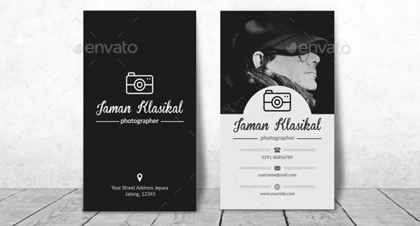 Clasic Photographer Business Card