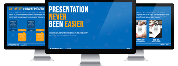 Eazy Business PowerPoint Template