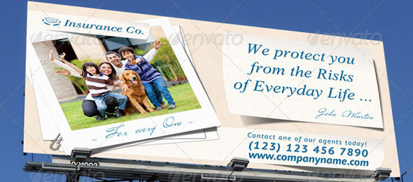 Insurance Company Outdoor Banner 13