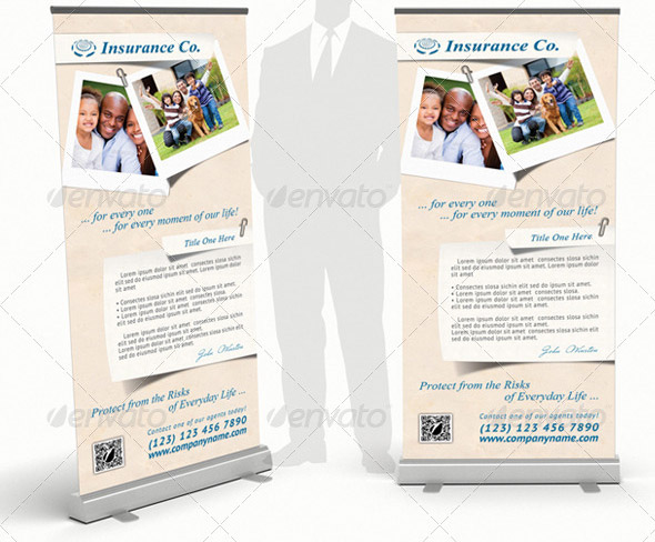 Insurance Company Rollup Banner 13
