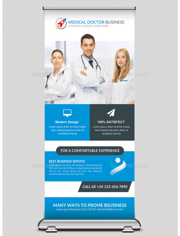 Medical Health Rollup Banner
