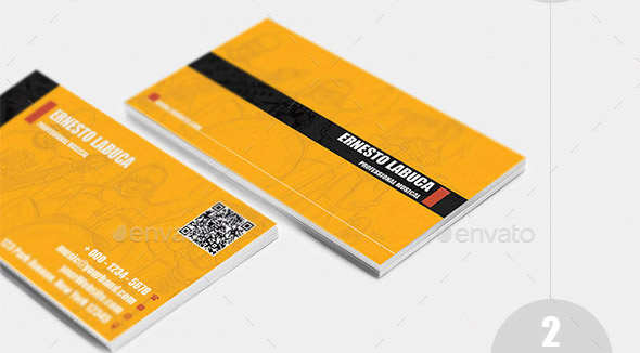 Music Band Corporate Business Card