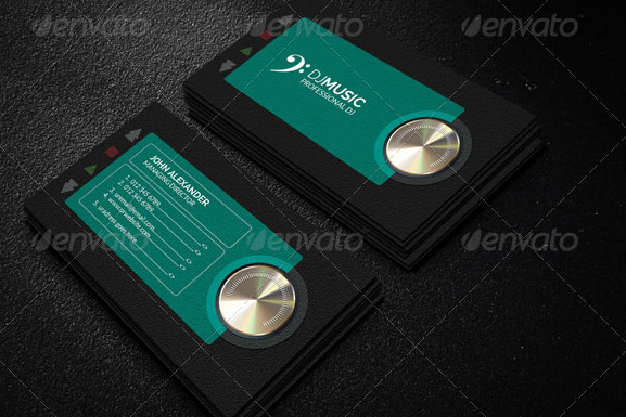 23 great music business card psds desiznworld music business card colourmoves