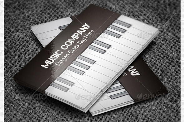 Musical Business Card 03