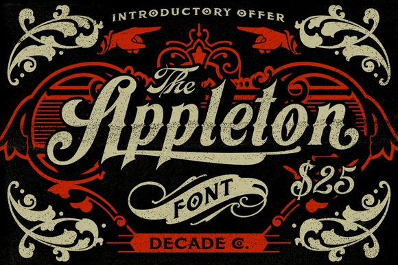 Appleton by Decade Type Foundry
