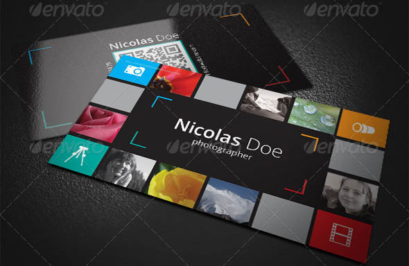 Color Media Business Card