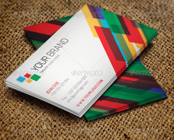 Creative Colorful Business Card Template