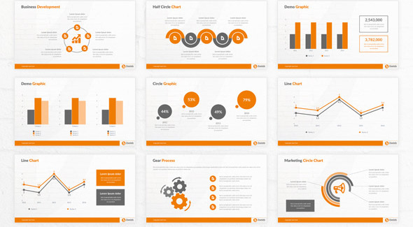 Cool Powerpoint Templates For Analytics Presentation  Desiznworld
