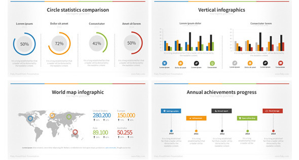 35 cool powerpoint templates for analytics presentation. Black Bedroom Furniture Sets. Home Design Ideas