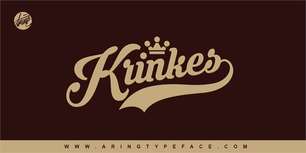 Krinkes PERSONAL USE font
