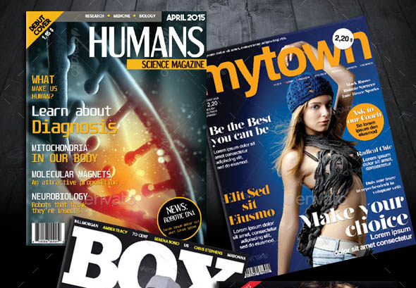 My Magazine Cover Templates