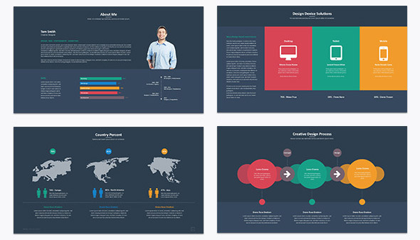 35 cool powerpoint templates for analytics presentation desiznworld neyon powerpoint template toneelgroepblik Images