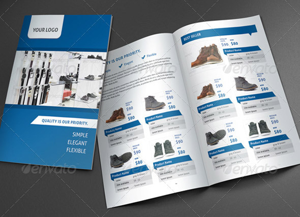 Product Brochure Templates Insssrenterprisesco - Promotional brochure template