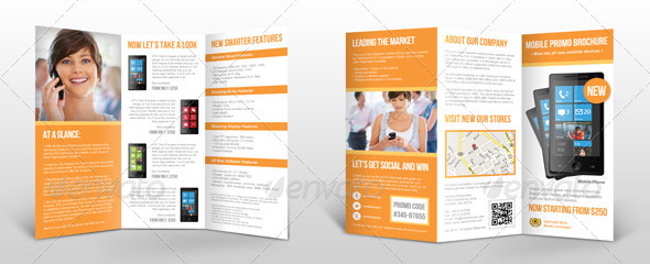 Cool Product Promo Brochure Templates Desiznworld - Promotional brochure template