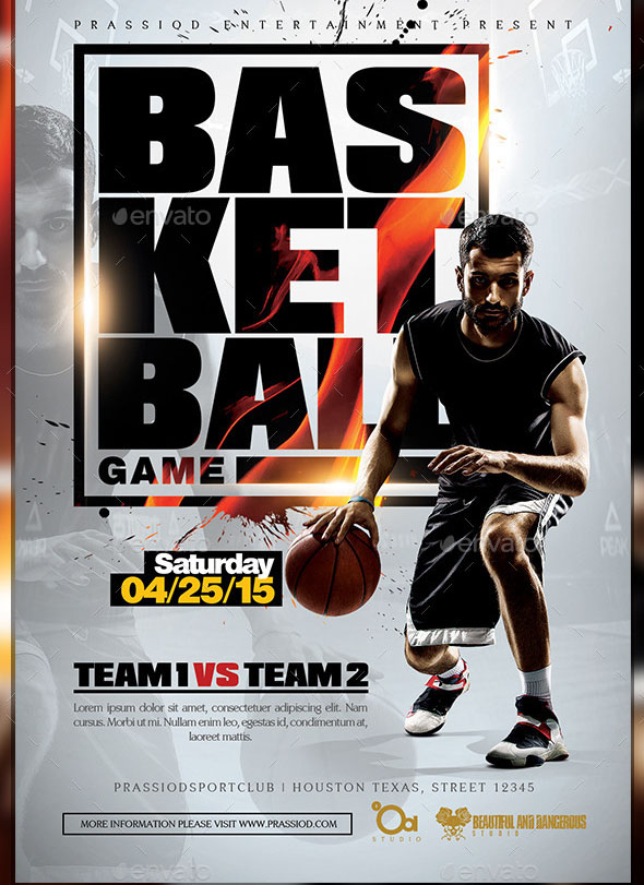 16 Nice Basketball Poster Templates – Desiznworld
