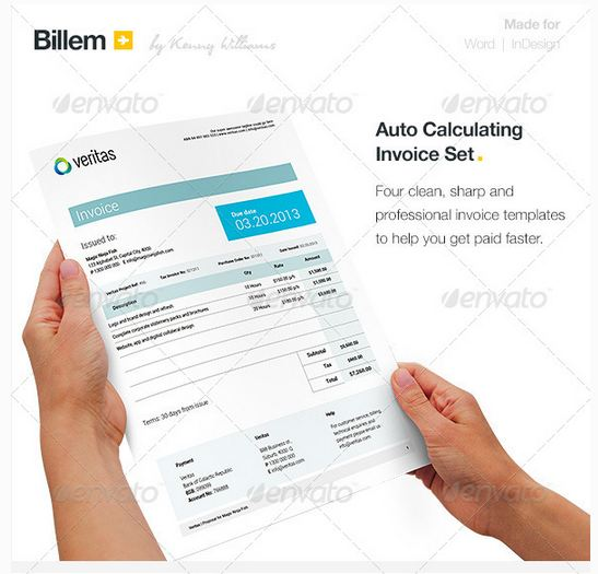 Billem - Invoice Template Set