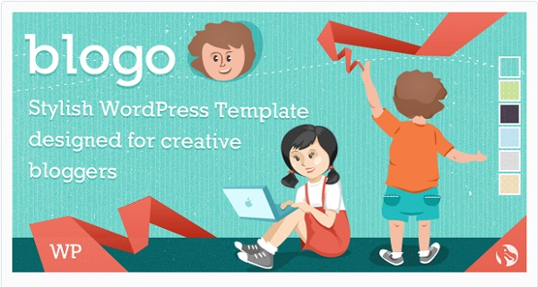 Blogo - Responsive WP Theme for Creative Bloggers