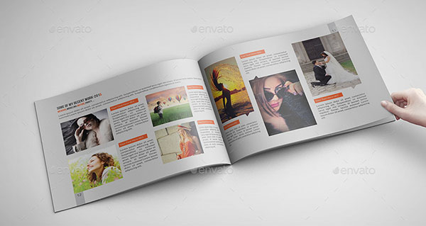 18 cool photography brochure templates desiznworld for Cool brochure templates