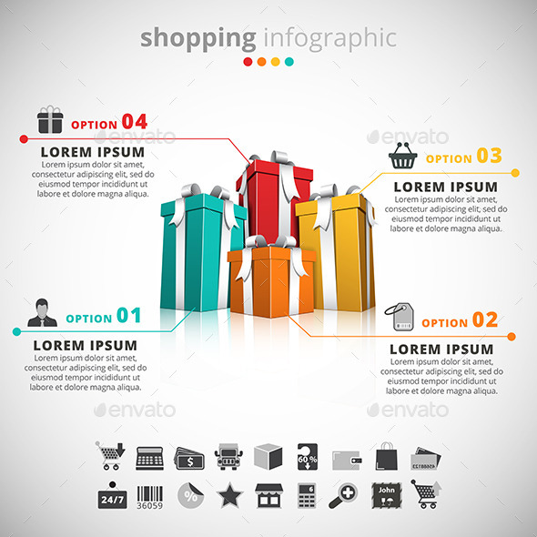 Shopping Infographic