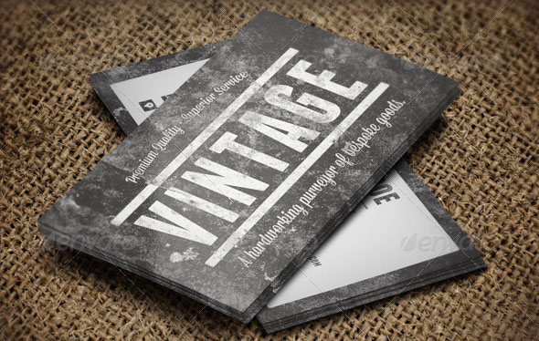 15 cool grunge business card templates desiznworld vintage grunge business cards flashek Images