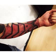 3d Iron Man Tattoo
