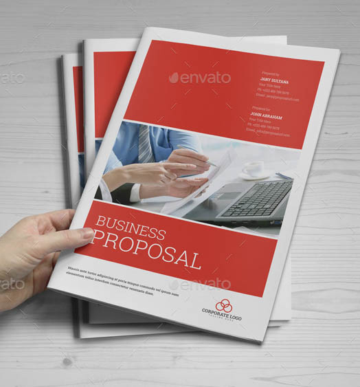 Business Proposal InDesign Template 01