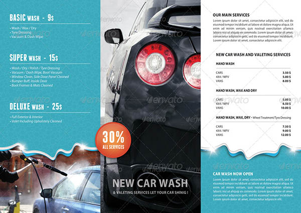 Car Wash 3-Fold Brochure 02